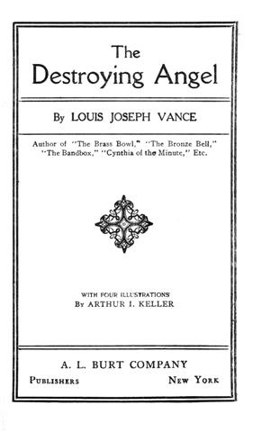 The Project Gutenberg Ebook Of The Destroying Angel By Louis Joseph
