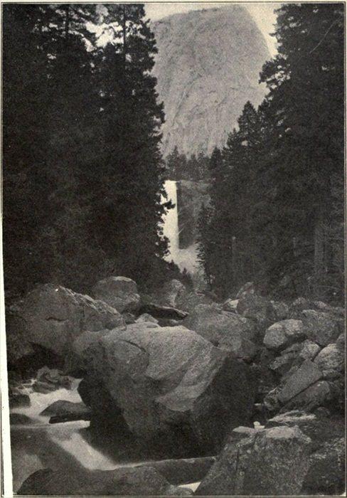 The Vernal Falls, Yosemite National Park