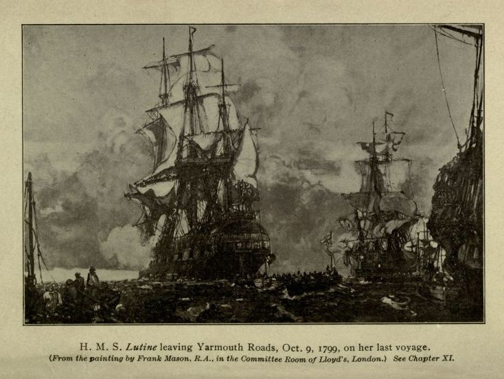 The project gutenberg e text of the book of buried treasure by hms ilutinei leaving yarmouth roads oct 9 fandeluxe Image collections