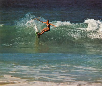 'Margo Oberg, World Champion Surfer' from the web at 'http://www.gutenberg.org/files/33355/33355-h/images/illus-031.jpg'