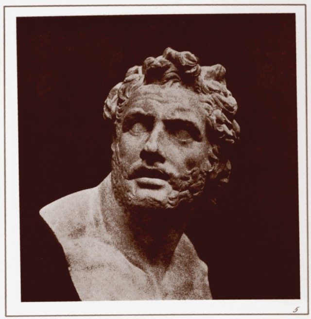 PLATE V. BUST OF PATROCLUS.