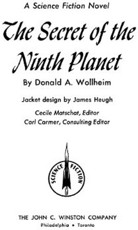 The project gutenberg ebook of the secret of the ninth planet by project gutenberg ebook the secret of the ninth planet produced by greg weeks roger l holda mary meehan and the online distributed proofreading fandeluxe Gallery