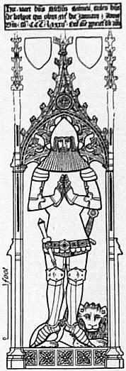 fig  4  sir nicholas burnell  1382  acton burnell  shropshire