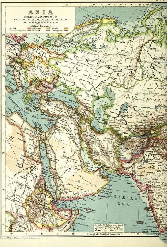MONMOUTH COUNTY NEW JERSEY PLAT ATLAS MAP 1889 NORTH SPRING LAKE /& LAKE COMO