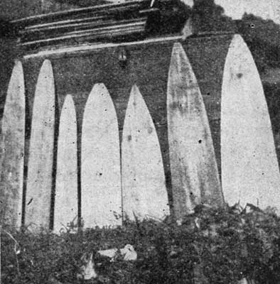 SIZE OF STRETCHING BOARDS.