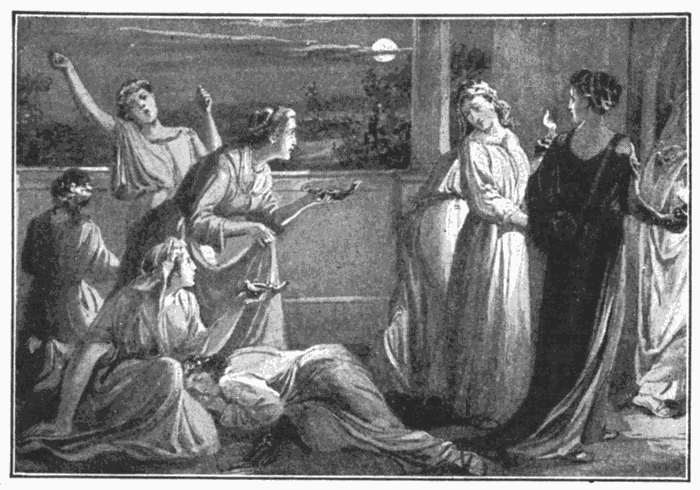 The Ten Virgins They That Were Ready Went In With Him To Marriage Matt 2510