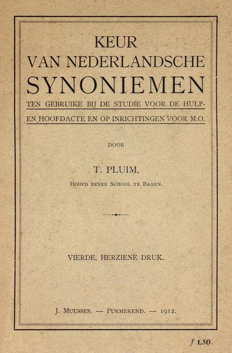 The Project Gutenberg Ebook Of Keur Van Nederlandsche