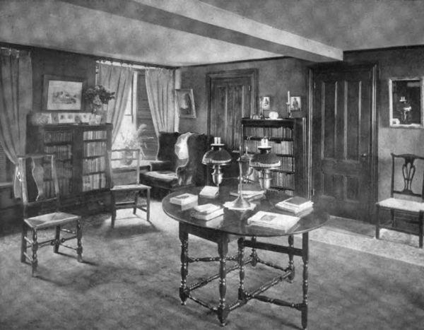 Plate XLI.—Parlor, Spencer-Pierce House.