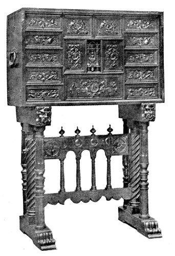 FRENCH CABINET.