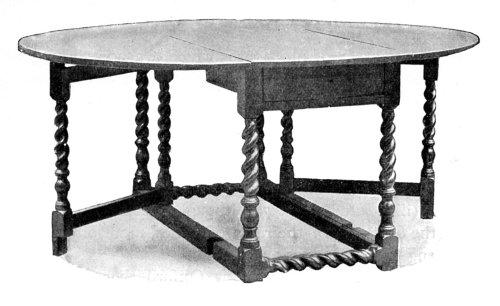 GATE-LEG TABLE.