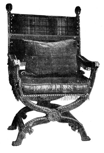 CHAIR USED BY JAMES I.
