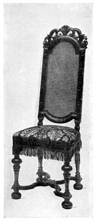 WILLIAM AND MARY CHAIR.