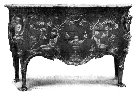 LOUIS XV. PARQUETERY COMMODE.