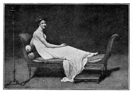 PORTRAIT OF MADAME RÉCAMIER.
