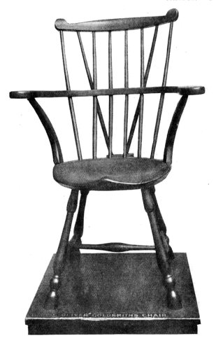 OLIVER GOLDSMITH'S CHAIR.