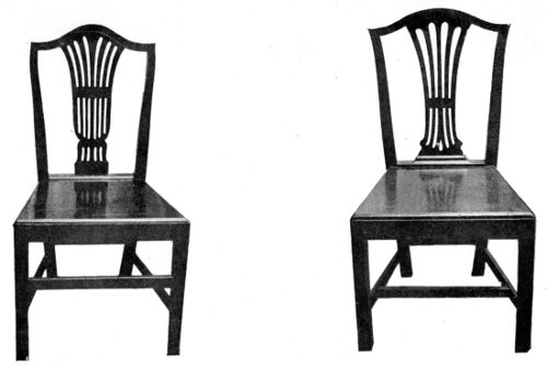 COTTAGE CHAIRS, BEECHWOOD.