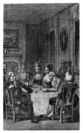 INTERIOR OF ROOM, ABOUT 1782.