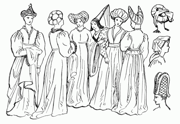 the project gutenberg ebook of dress design by talbot hughes 1920s Dresses see caption
