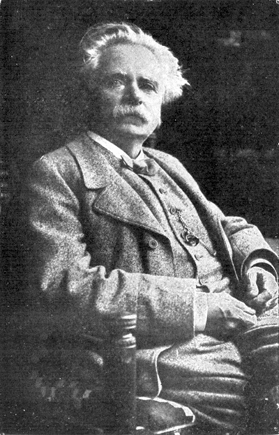 No. 1 Cut the picture of Grieg from the picture sheet. Paste in here. Write the composer's name below and the dates also.