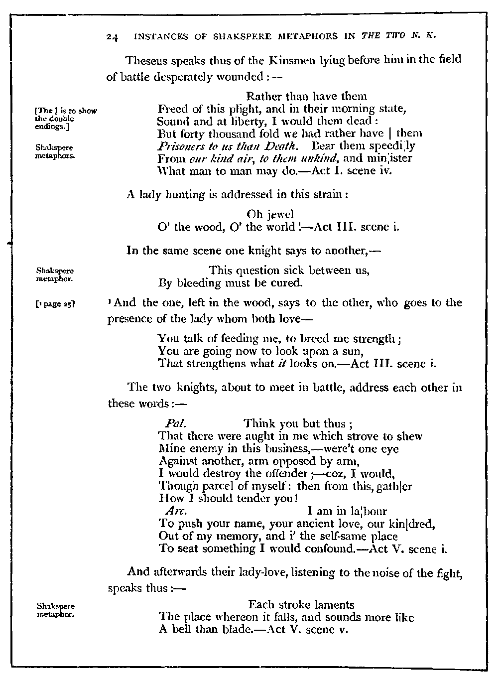 The Project Gutenberg eBook of A Letter on Shakspere's