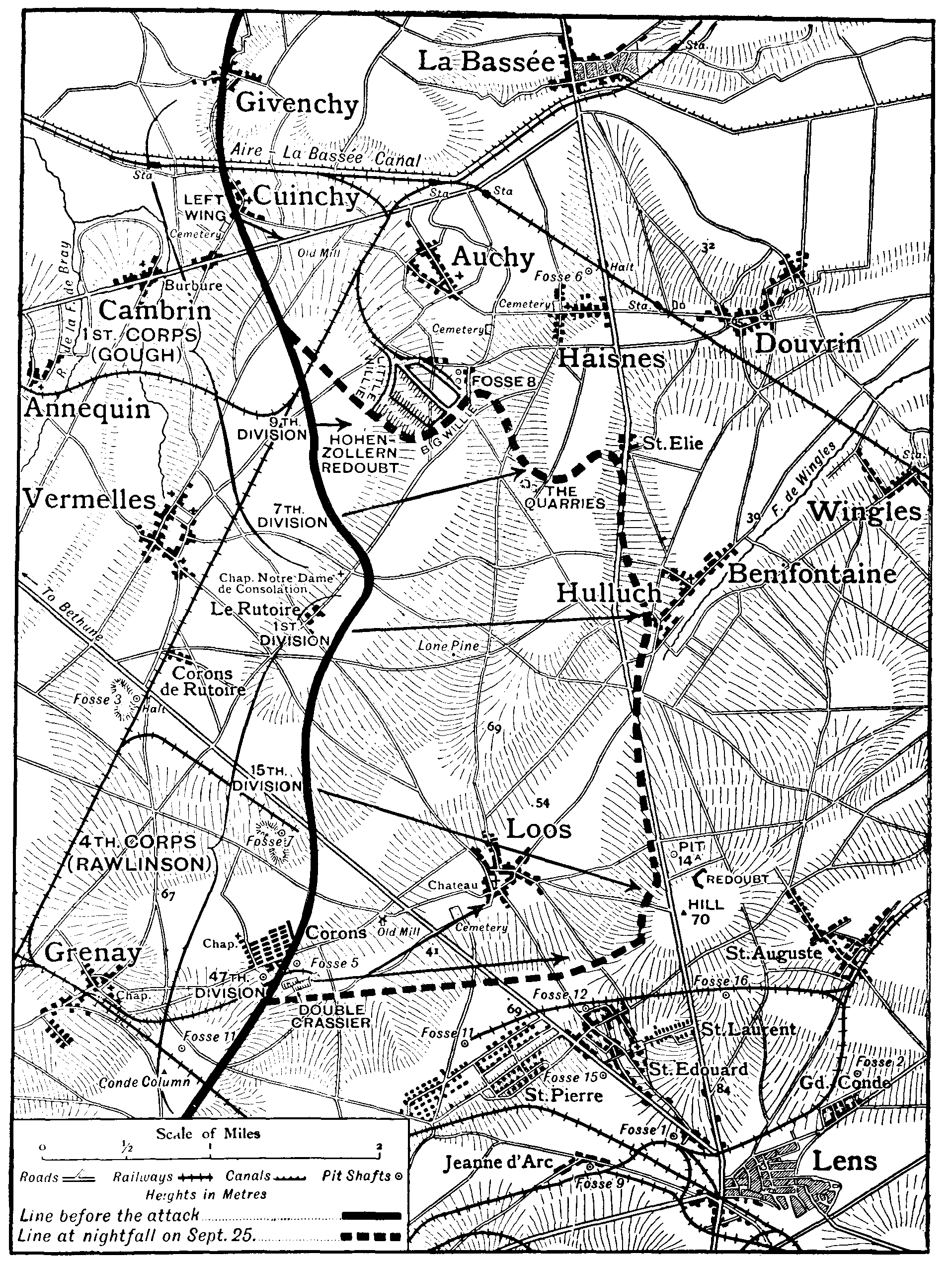 the new gresham encyclopedia volume iv part 3 Deputy Sheriff Cover Letter Examples map showing the first army on 25th september 1915