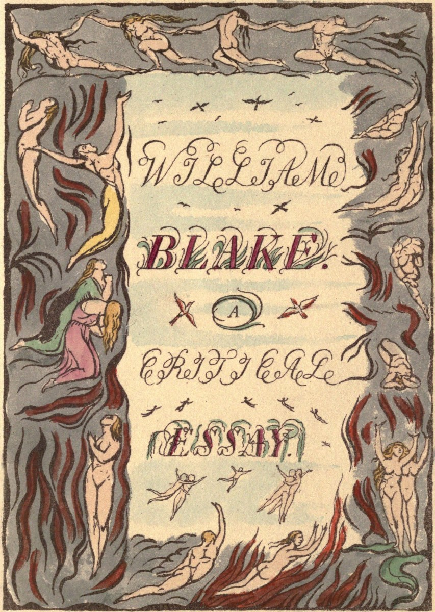 the project ebook of william blake by algernon charles william blake a critical essay larger image