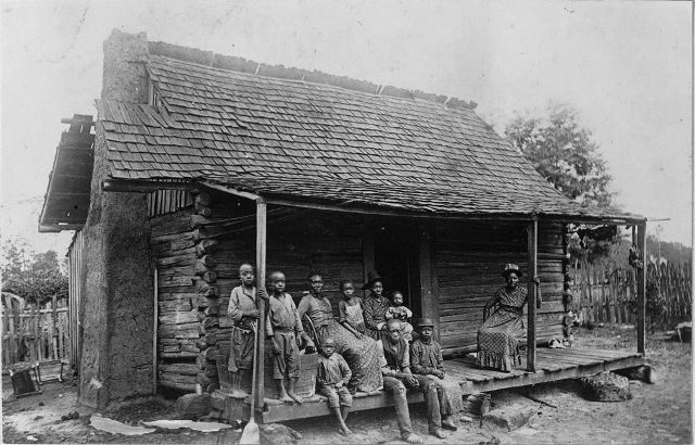 Slave Cabin in Barbour County near Eufaula
