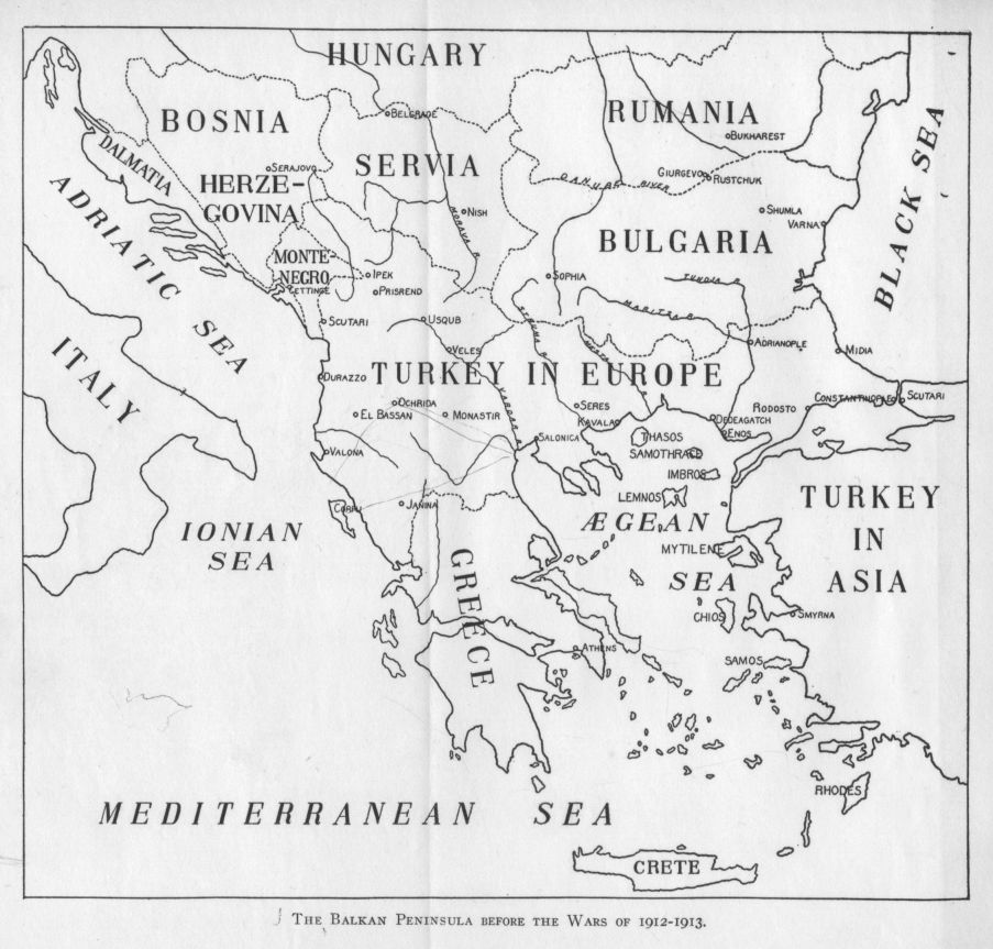 The Project Gutenberg Etext of The Balkan Wars 19121913 by