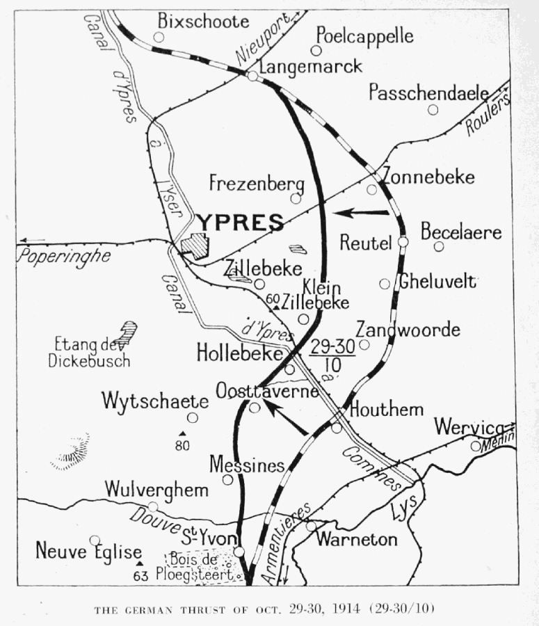 The Project Gutenberg Ebook Of Ypres And The Battles Of Ypres By