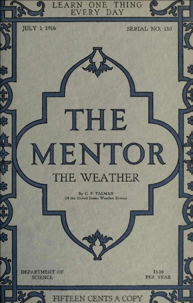 The project gutenberg ebook of the mentor the weather serial no this project gutenberg ebook the mentor the weather produced by gerard arthus and the online distributed proofreading team at httppgdp fandeluxe Images