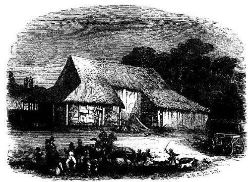 """'THE """"SWALLOW BARN.""""' from the web at 'http://www.gutenberg.org/files/36405/36405-h/images/image8.jpg'"""
