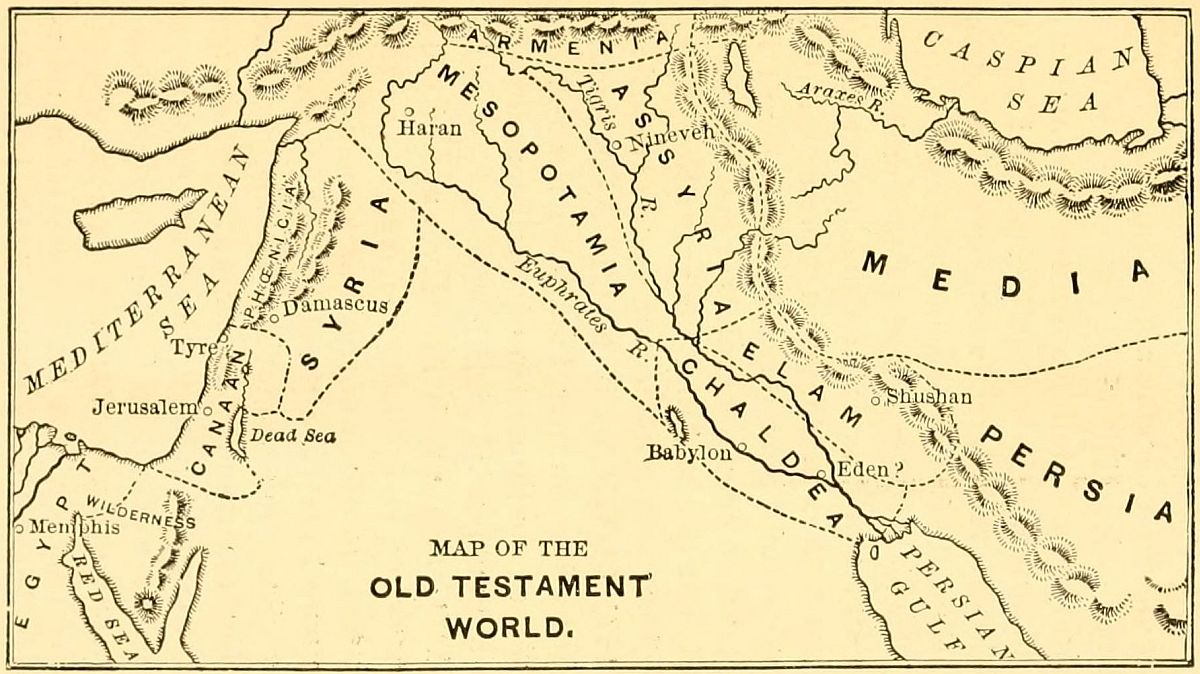 The Project Gutenberg EBook Of Studies In Old Testament History - Map of egypt in old testament times