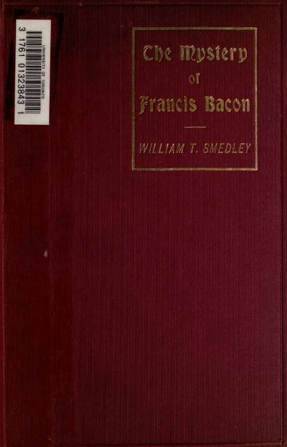 The project gutenberg ebook of the mystery of francis bacon by from the bust at gorhambury fandeluxe Choice Image