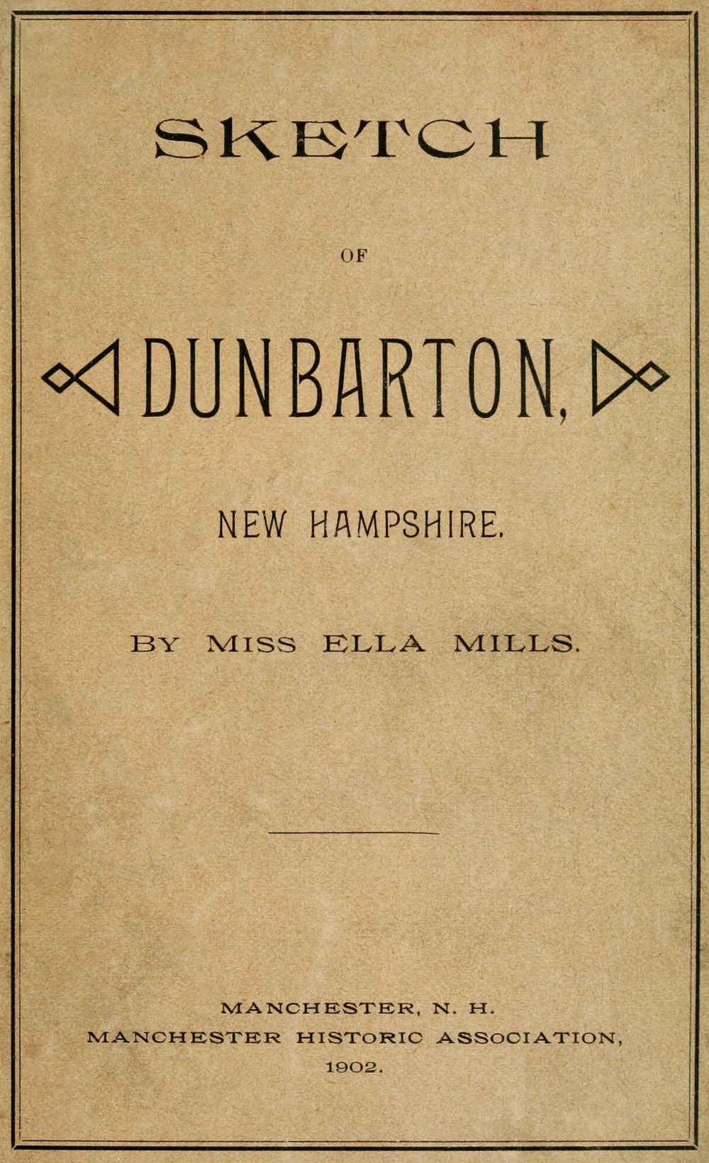 The project gutenberg ebook of sketch of dunbarton new hampshire sketch of fandeluxe Gallery