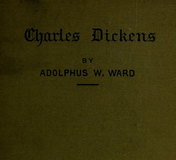 The project gutenberg ebook of dickens by adolphus william ward english men of letters fandeluxe Gallery