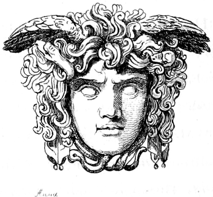 The project gutenberg ebook of visits and sketches at home and a medusa mask fandeluxe Images