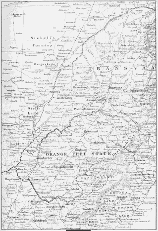 The project gutenberg ebook of south africa and the transvaal war map of the seat of war scale 1 inch86 miles fandeluxe Choice Image