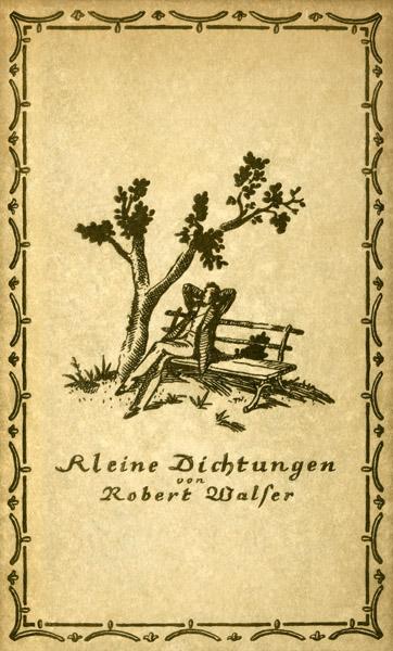 Kleine Dichtungen By Robert Walsera Project Gutenberg Ebook