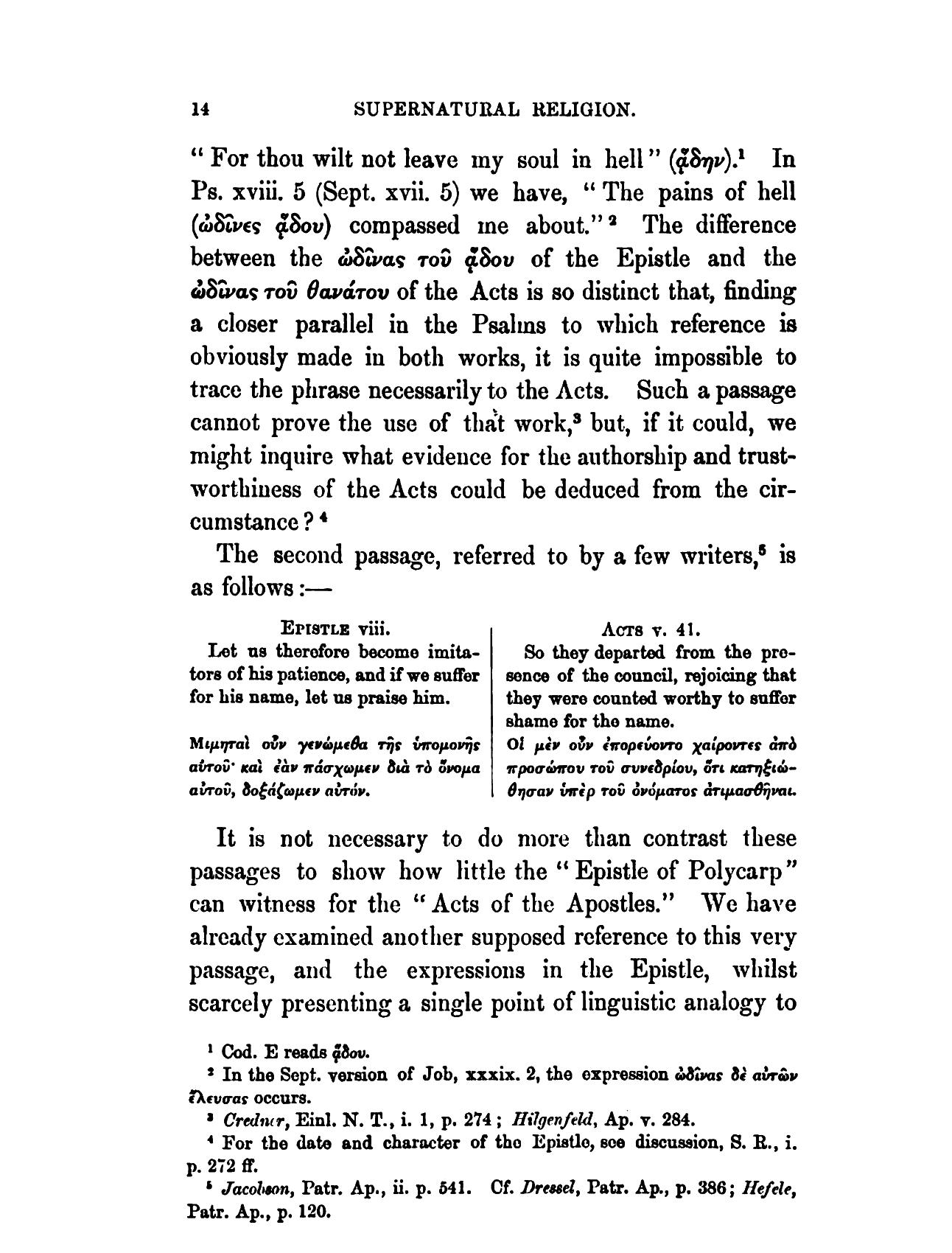 Supernatural Religion, Vol  III (of III) by Walter Richard