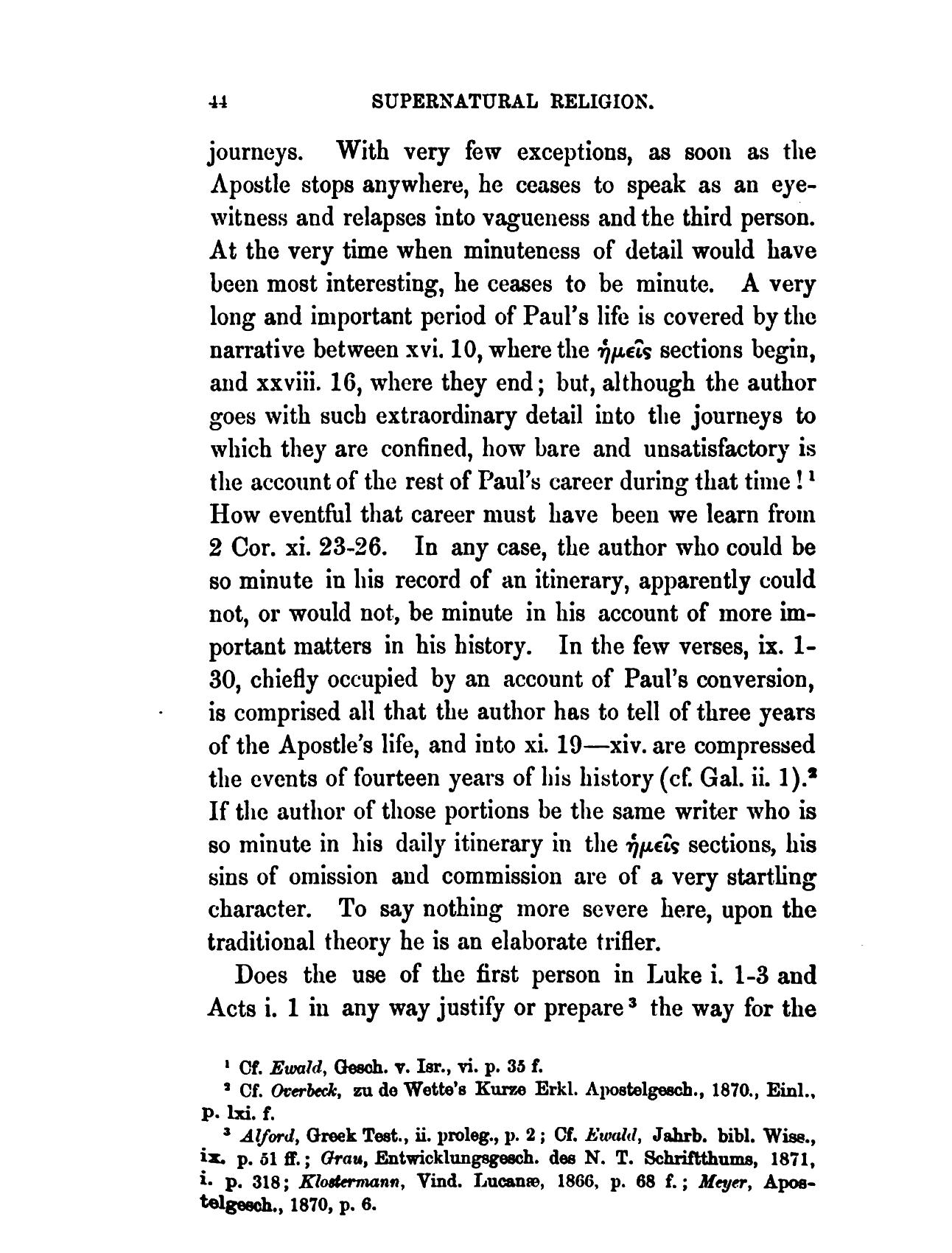 Essay in third person