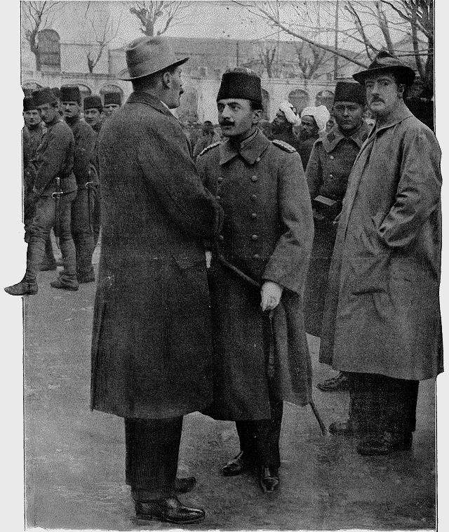 officier ottoman mots flèches