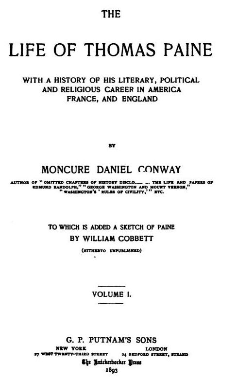 thomas paine summary of biography Paine was born of a quaker father and an anglican mother  he had two brief  marriages  title page from thomas paine's pamphlet common sense, 1776.