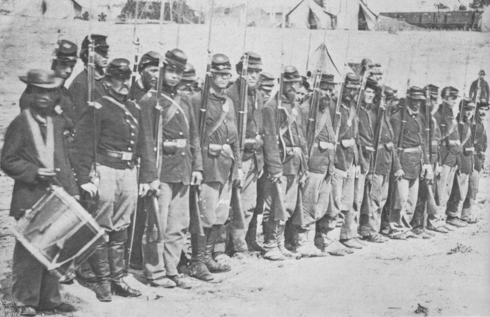 The project gutenberg ebook of the civil war centennial handbook by none too military in appearance such ragged squads of men and boys developed into an fandeluxe Choice Image