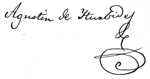 Hernan Cortes Signature