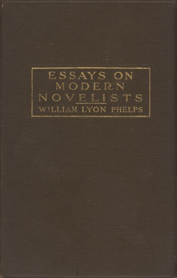 The Project Gutenberg Ebook Of Essays On Modern Novelists By