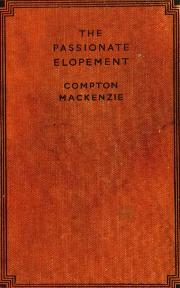 The Project Gutenberg Ebook Of The Passionate Elopement By Compton