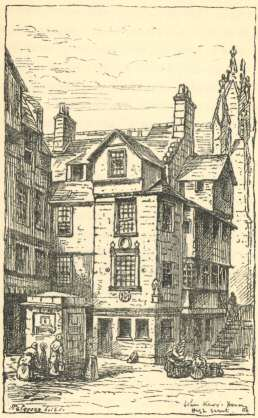 John Knox's House in the High Street