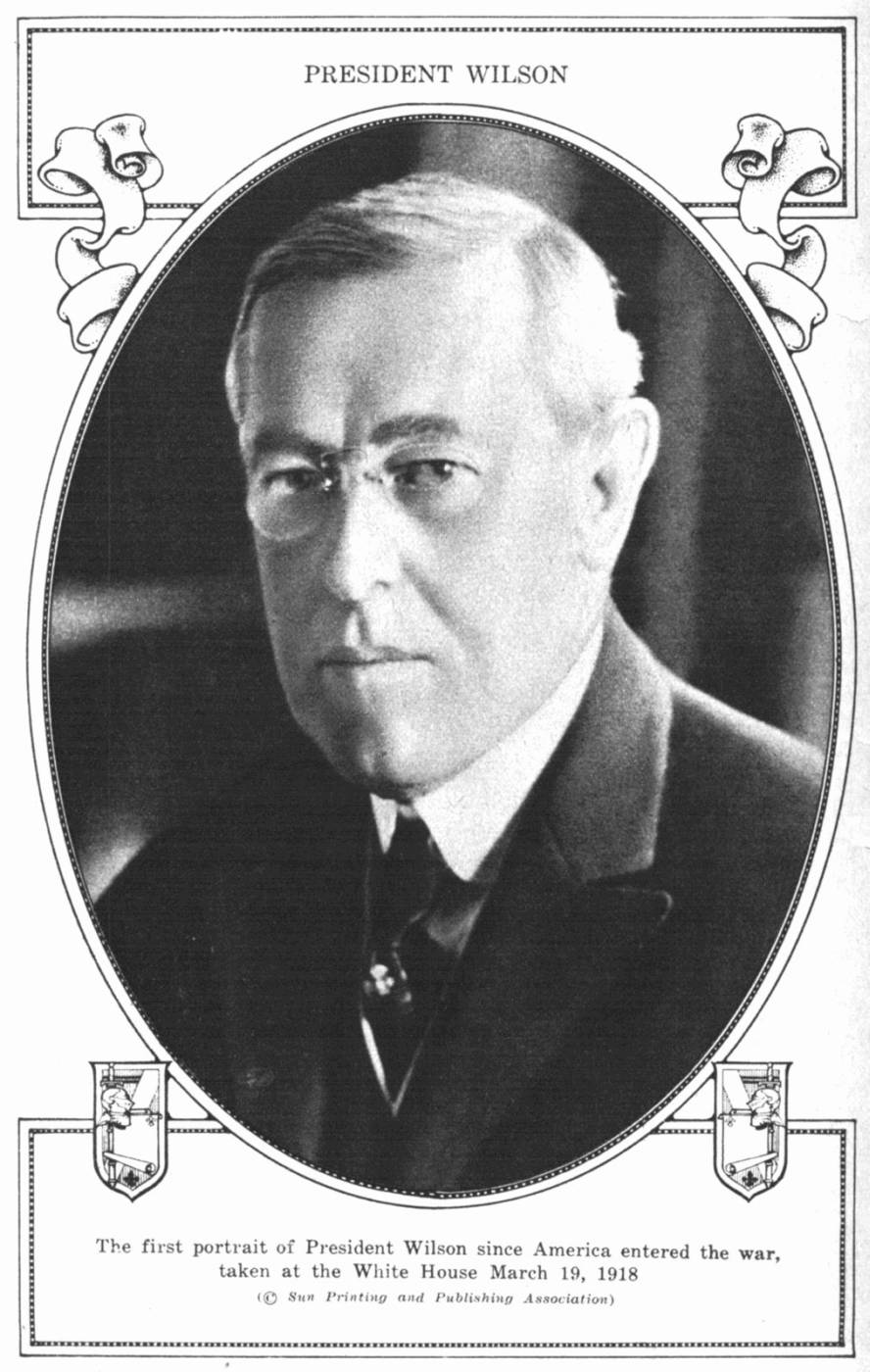The project gutenberg ebook of current history a monthly magazine president wilson the first portrait of president wilson since america entered the war taken at fandeluxe Document
