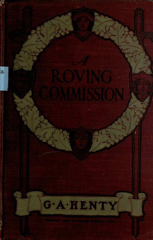 The project gutenberg ebook of a roving commission by g a henty cover fandeluxe Choice Image
