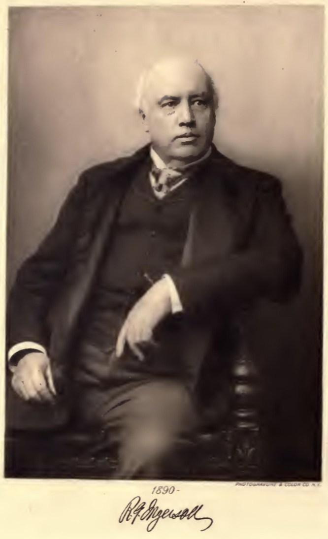 The Works of Robert G. Ingersoll, Contents of the 12 Volumes